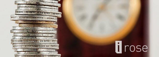 Čas je denar, kovanci in ura